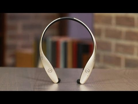 LG Tone Infinim HBS-900: The Bluetooth headphones with retractable earbuds