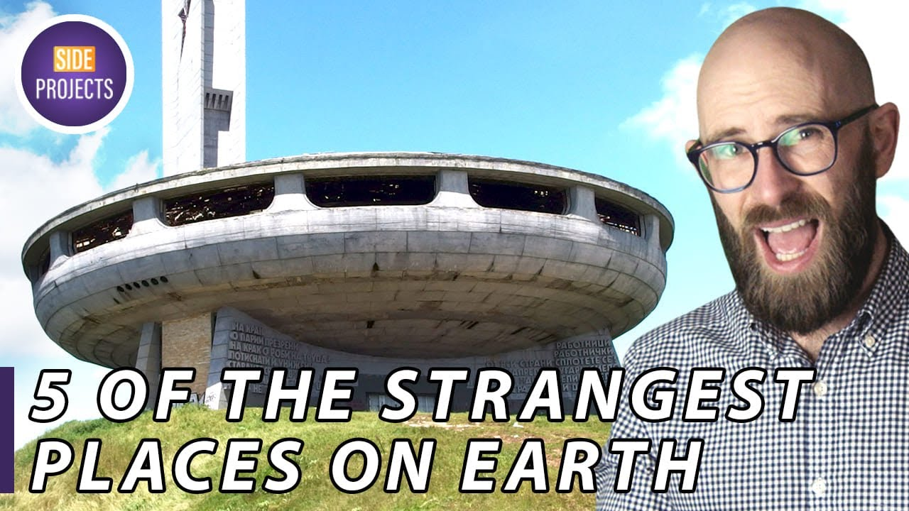 5 of the Strangest Places on Earth