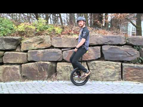 Learning how to ride a unicycle!