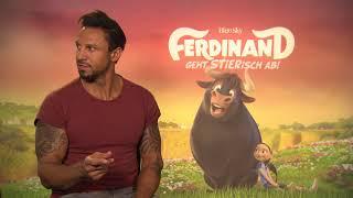 """Interviews """"Ferdinand"""" Synchronsprecher Daniel Aminati"""