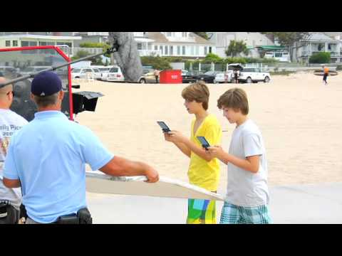 Pokémon HeartGold / SoulSilver Commercial - Sprouse Brothers Behind the Scenes