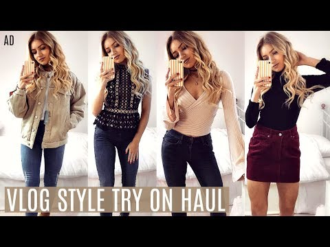 TRY ON HAUL // HOW TO SAVE MONEY SHOPPING ONLINE AT CHRISTMAS 2017 AD