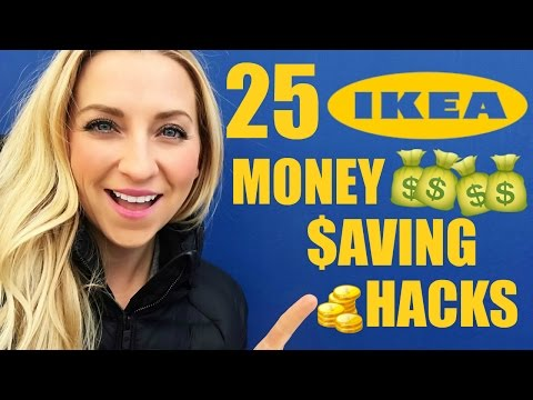 25 IKEA Hacks & IKEA Tips! Save Money On Your Next IKEA Haul! 🛍