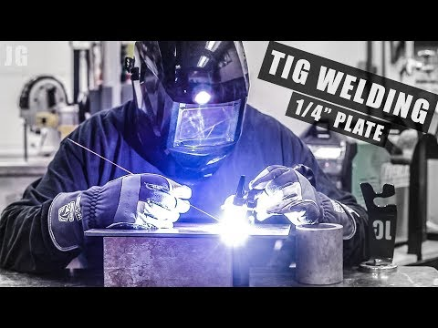 Tig Welding Soil Compaction Plates | JIMBO'S GARAGE