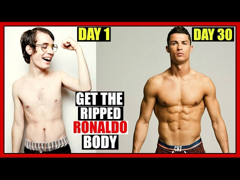 How To Get A Body Like Cristiano Ronaldo - WORKOUT & DIET PLAN