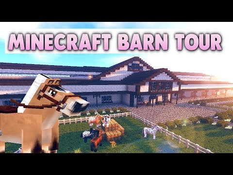 Minecraft Barn Tour 2018 - Grand Oak Stable