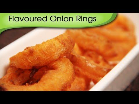 Onion Rings | Flavoured Onion Rings Recipe | Ruchi Bharani