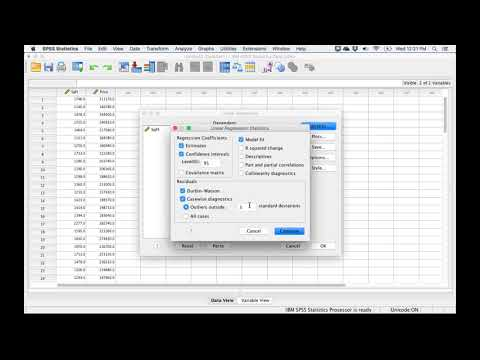 How to Run Linear Regression in SPSS