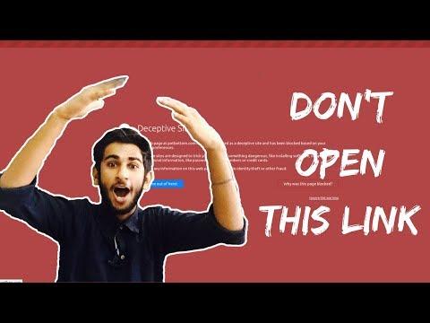 Don't Open This Link - Potbottom.com
