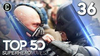 Top 50 Superhero Movies: The Dark Knight Rises - #36