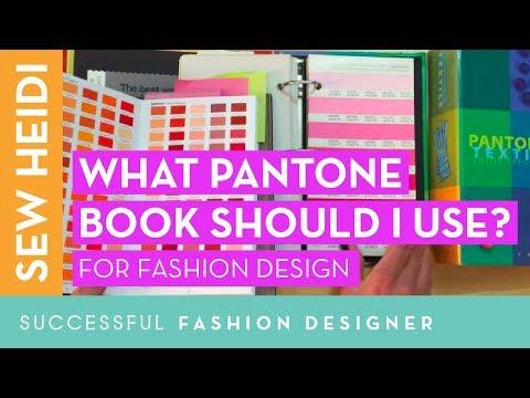 Pantone color book review for fashion designers (TCX vs TPX?!)