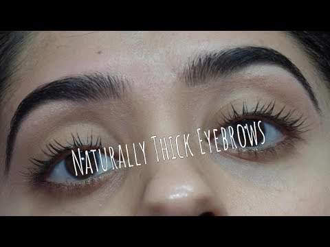 HOW I FILL IN MY EYEBROWS // naturally thick brows
