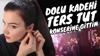 Sınav Sonucumu Öğrenip Dolu Kadehi Ters Tut Konserine Gittim #gün9