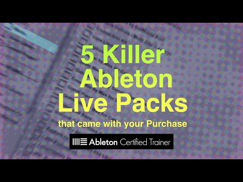 5 Killer Ableton Live Packs You May Already Own