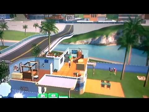 Les sims 3 wii #1 l aventure commence