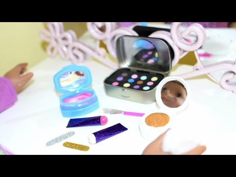 DIY American Girl Makeup