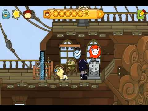 Let's Play Scribblenauts Unlmited - The Listy Colon Part 1