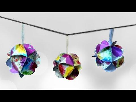 Festive Decoration | 3D Christmas  Ornament/Baubles-2 | New Year Decoration| Home decor ideas