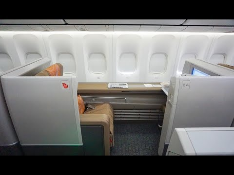 Air China 747-8 FIRST CLASS | Beijing to New York CA981