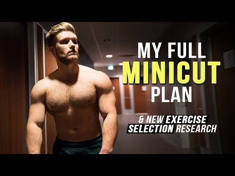 Bulked Too Far? My MINICUT Plan | New Exercise Selection Research