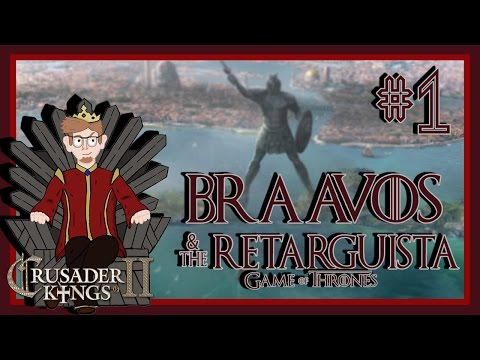 Crusader Kings 2 - A Game of Thrones Mod | Braavos - The ReTarguista | Episode 1 [A Bigger Boat]