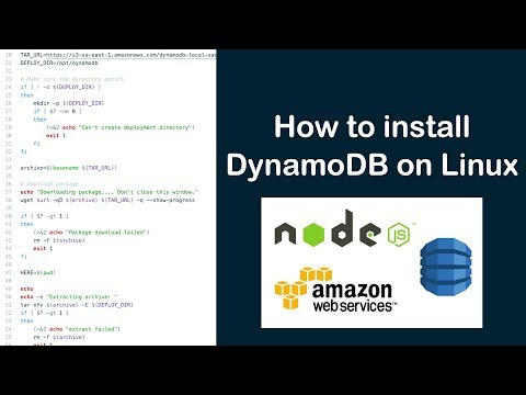 How to install DynamoDB on Linux