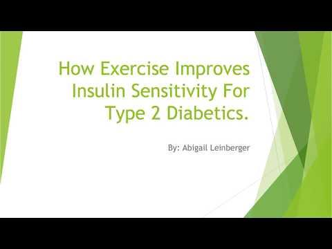 How Exercise Improves Insulin Sensitivity For Type 2 Diabetics