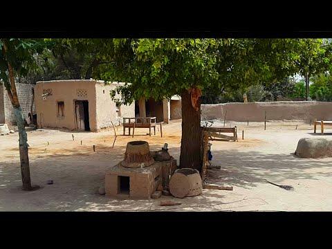 Village Life Of Punjab In Pakistan | Mud Houses & Natural Scenes