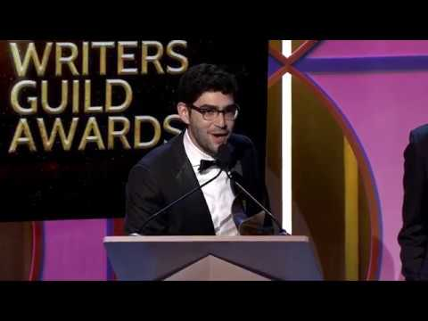 The 2017 WGA Award for Comedy/Variety Specials goes to Triumph The Primary Election Special 2016