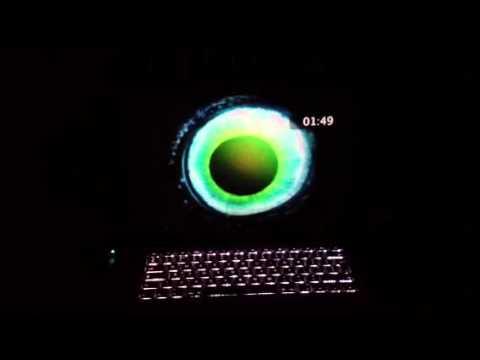Laptop screensaver