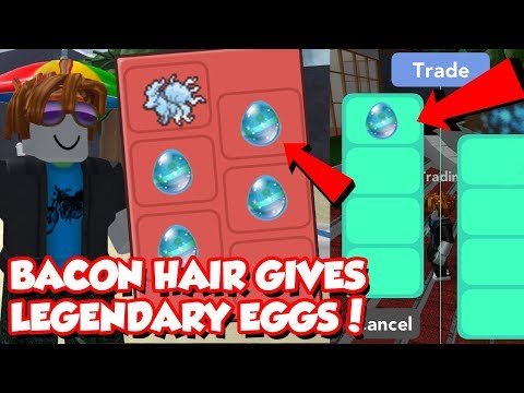 BACON HAIR GIVES THESE FREE LEGENDARY EGGS IN POKEMON BRICK BRONZE! *Trolling*
