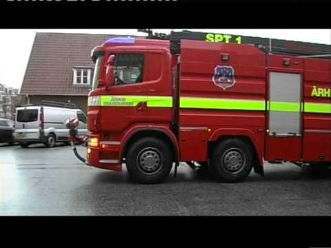 2 nye brandbiler til Århus Brandvæsen