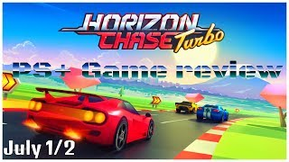 PS+ free game review: July 1/2: Horizon Chase Turbo