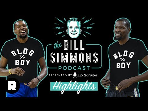 What Is an NBA Blog Boy? Kevin Durant Explains   The Bill Simmons Podcast Highlights   The Ringer