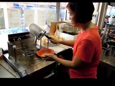 Automatic wanton noodles.