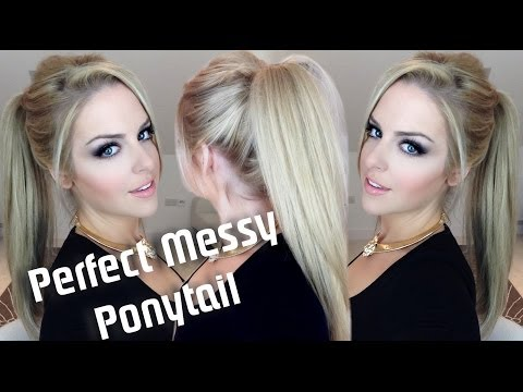 Perfect Messy Ponytail