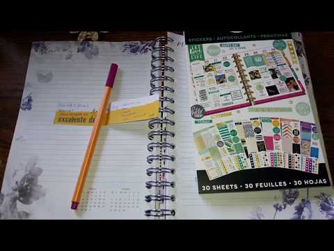 Not Your Average Plan With Me Using Mambi Sticker Book