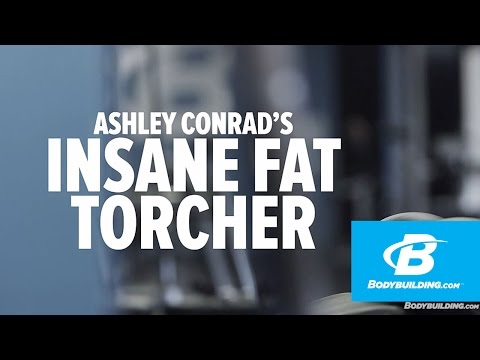 Ashley Conrad's Fat-Torching Circuit Workout - Bodybuilding.com