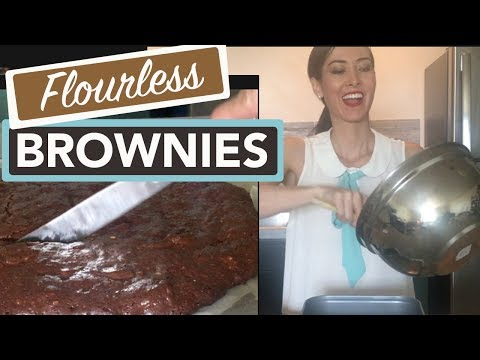 Low Carb Flourless Chocolate Brownies | How to Make Brownies without Flour