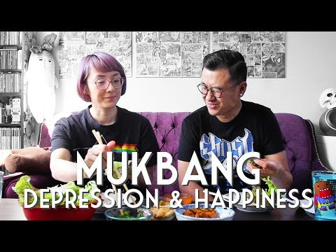 BULGOGI MUKBANG • Depression, Anxiety & Happiness + Where's Mama Rawch?!!