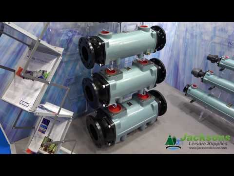 Bowman swimming pool heat exchangers come in many sizes