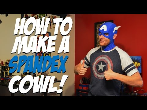 How to Make a Spandex Cowl! - Creative Costuming