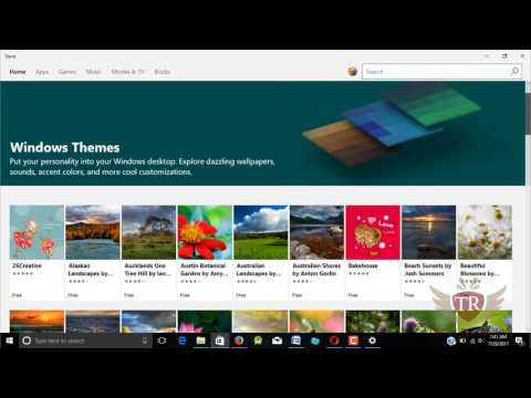 how to download and install Awesome free premium themes on windows 10 PC