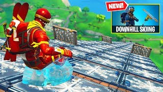 *new* Downhill Skiing Custom Gamemode In Fortnite!