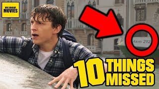 Download Spider-Man: Far From Home Trailer - Easter Eggs & Things Missed Video