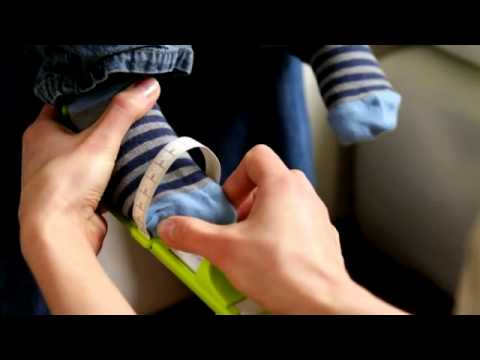 How To Use Clarks Toddler Foot Measuring Gauge | Charles Clinkard