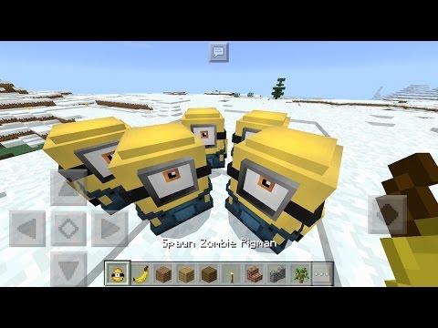 Minions in Minecraft Pocket Edition! (1.0)