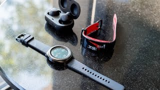 Samsung Gear Sport and Fit 2 Pro first look