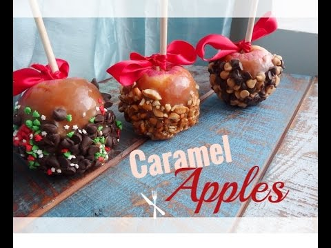 Holiday Caramel Apples | MCC