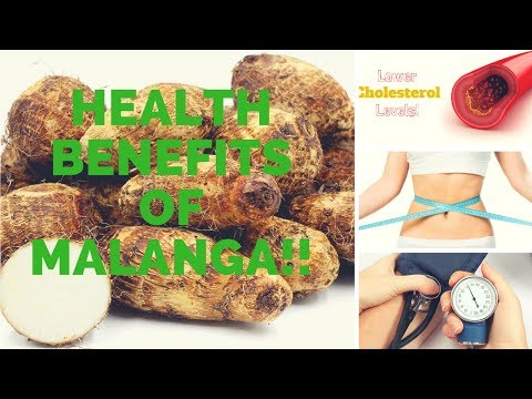 Health Benefit of Malanga!!